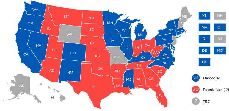 FOCUS: 2018 US gubernatorial and attorneys general post-election ...