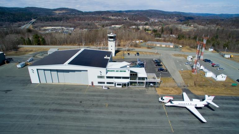 Vermont Firm Lets Solar Power Take Off At Granite Air