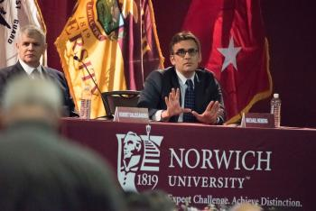 Norwich to hold 23rd Annual Military Writers' Symposium April 11-12