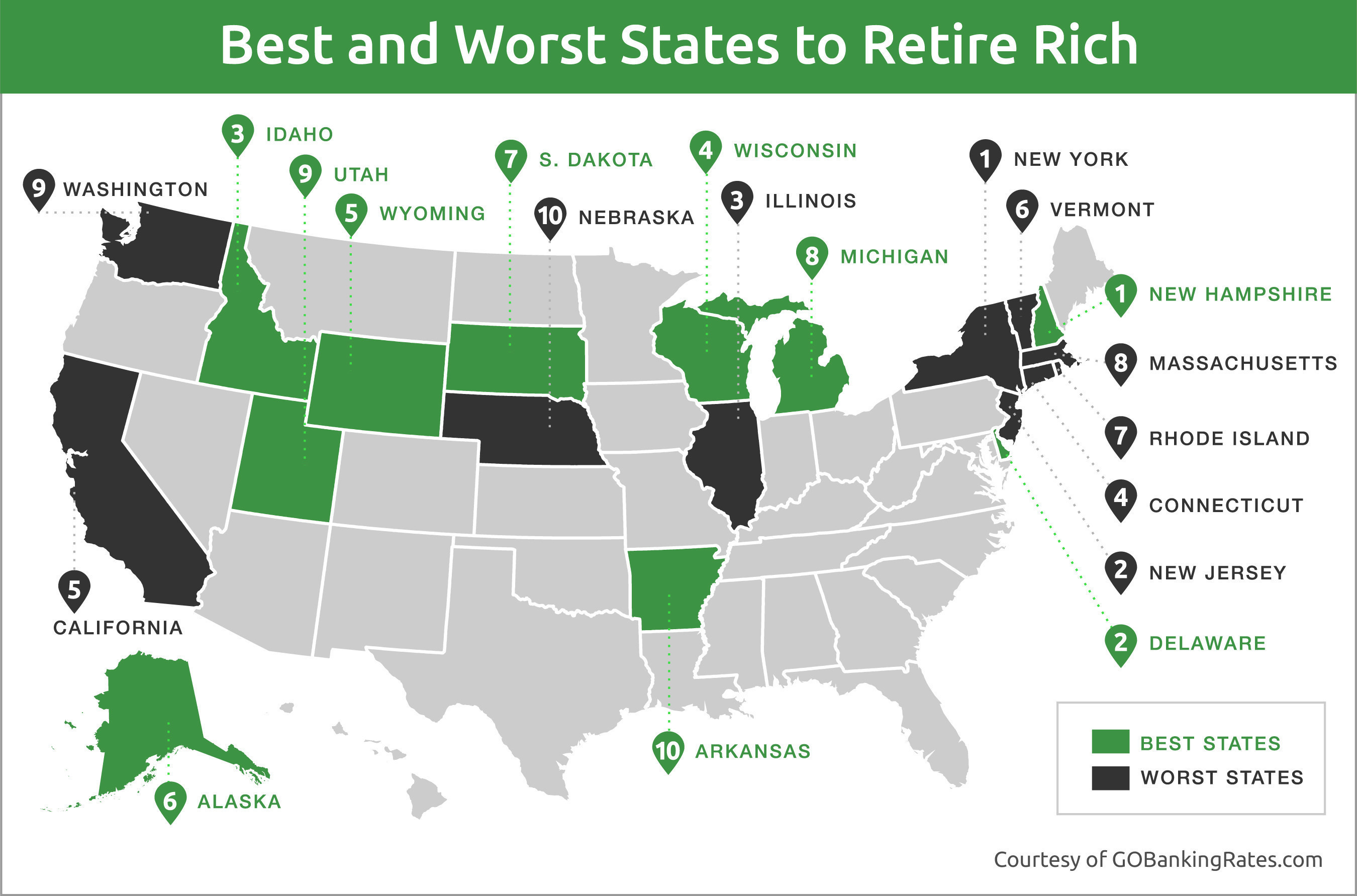 Vermont rated one of most expensive places to retire for Americas best home place