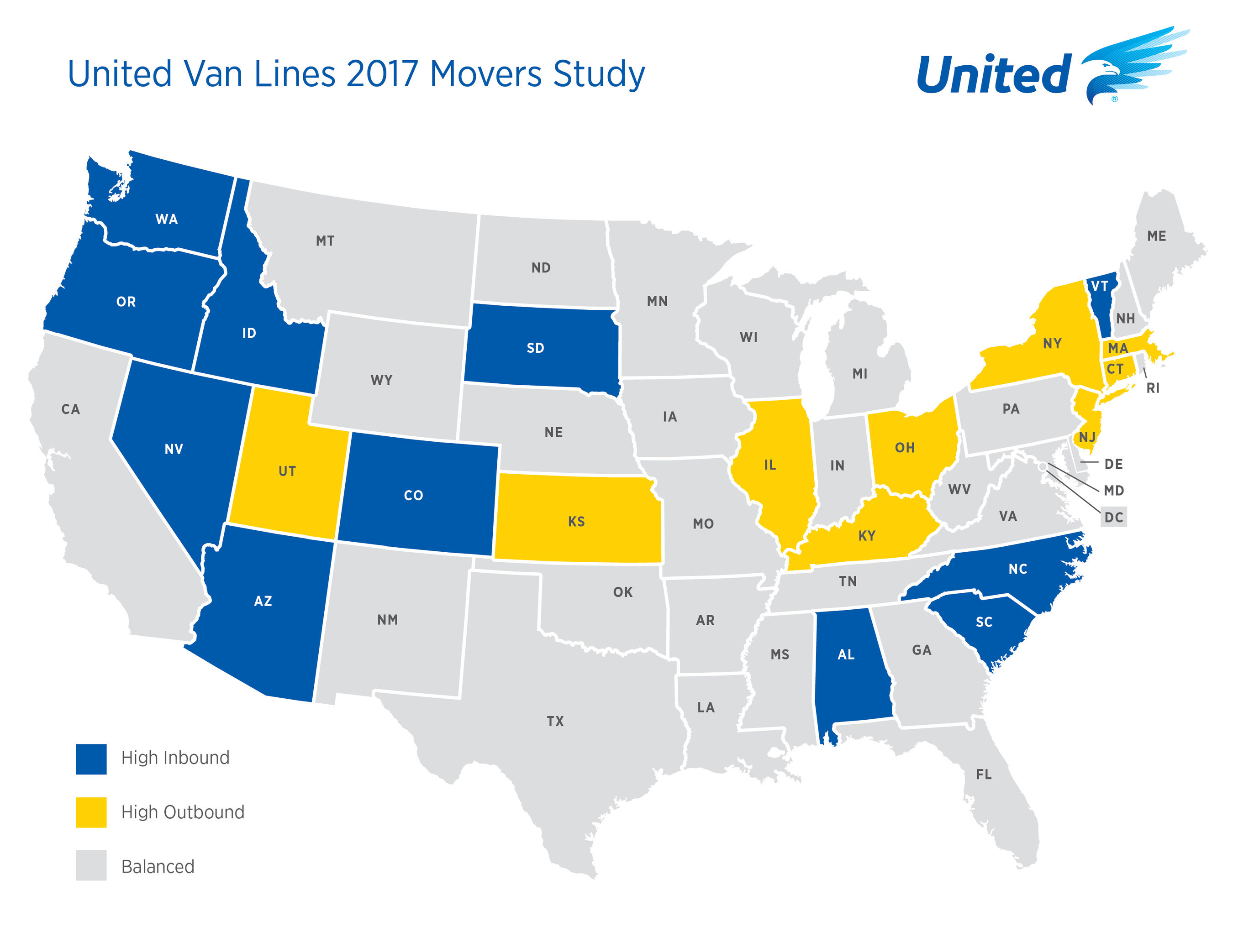 Vermont Has Highest Rate Of Moving In In Us Vermont Business Magazine